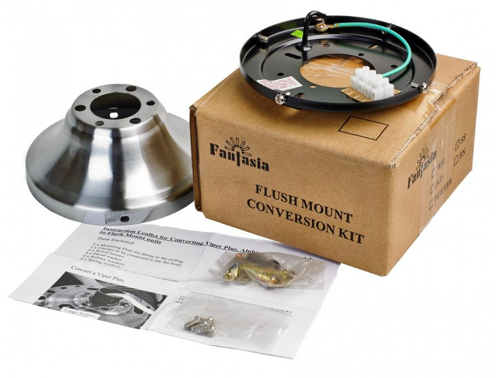 Fantasia Flush Kit Stainless Steel 333456